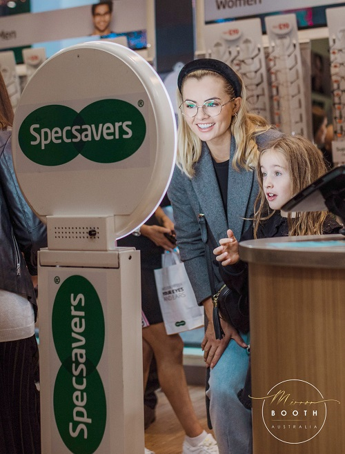 Mirror Booth Specsavers